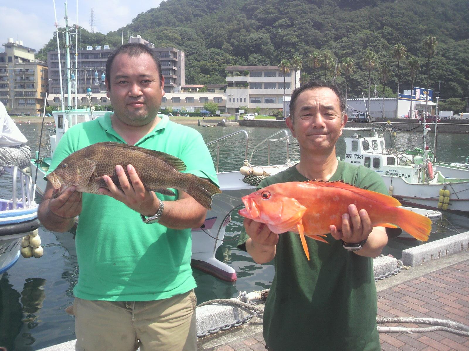根魚五目テンヤ釣果