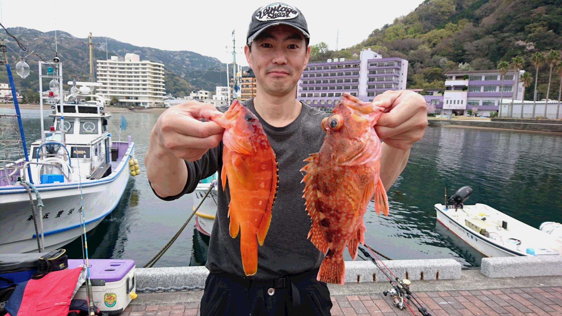 4月6日(水)釣果
