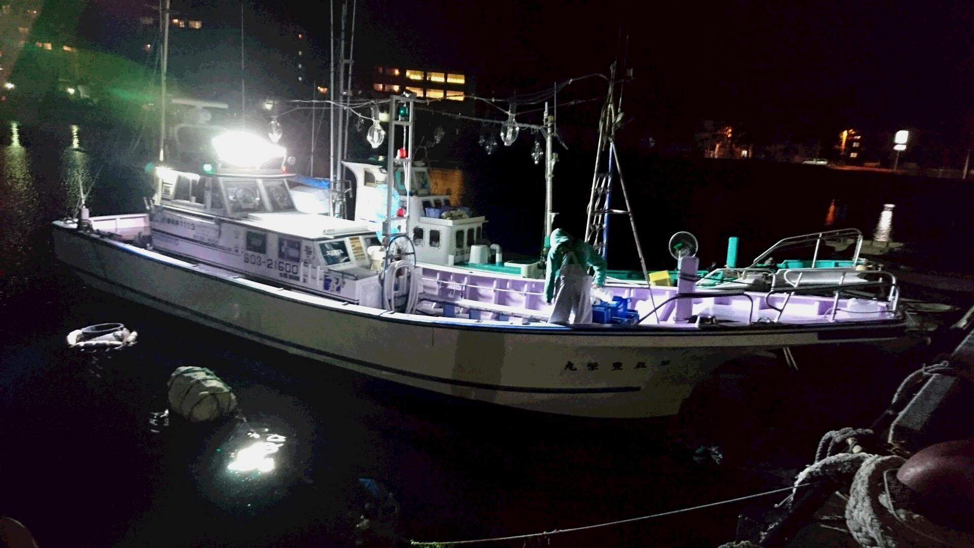 5月7日(土)夜釣り釣果