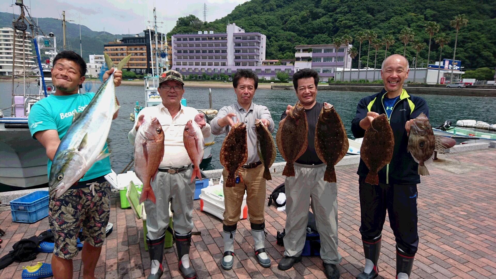 6月1日(水)釣果