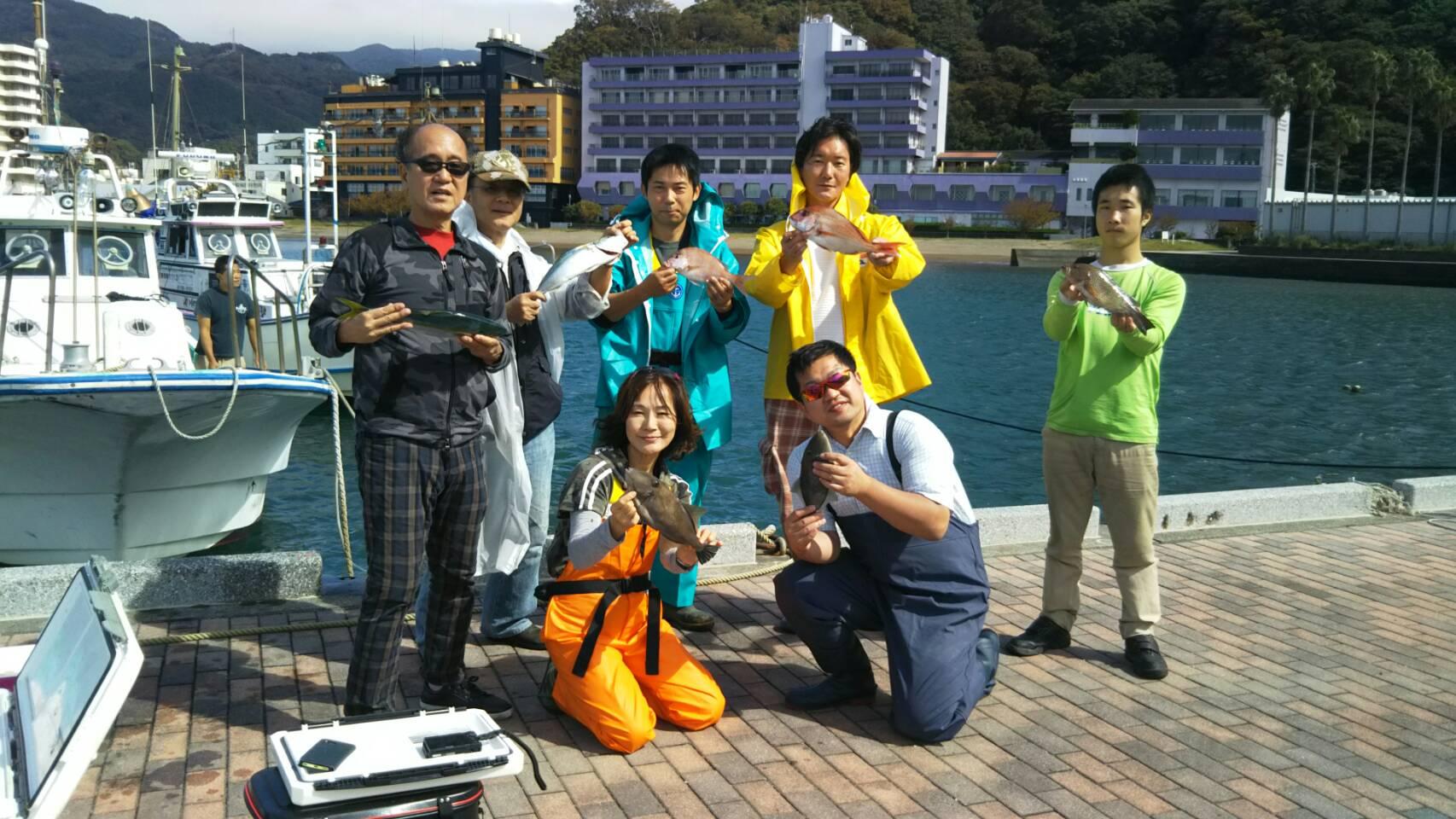 予定と10/5(金)釣果